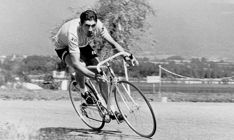 Eddy Merckx in action during the 1970 Tour de France